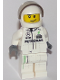 Minifig No: sc043  Name: Mercedes Petronas Race Car Driver, White Helmet