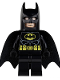 Minifig No: sh016  Name: Batman - Black Suit with Yellow Belt and Crest (Type 1 Cowl)