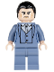 Minifig No: sh026  Name: Bruce Wayne - Sand Blue Suit
