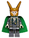 Minifig No: sh033  Name: Loki - Traditional Starched Fabric Cape