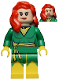 Minifig No: sh044  Name: Jean Grey in Phoenix Costume (Comic-Con 2012 Exclusive)