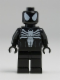Minifig No: sh045  Name: Spider-Man in Black Symbiote Costume (Comic-Con 2012 Exclusive)