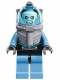 Minifig No: sh049  Name: Mr. Freeze, Medium Blue