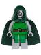 Minifig No: sh052  Name: Dr. Doom