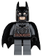 Minifig No: sh064  Name: Batman - Dark Bluish Gray Suit with Copper Belt