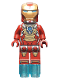 Minifig No: sh073  Name: Iron Man with Heart Breaker Armor