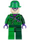Minifig No: sh088  Name: The Riddler - Green and Dark Green Zipper Outfit