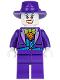 Minifig No: sh094  Name: The Joker - Blue Vest, Dark Purple Fedora