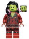 Minifig No: sh124  Name: Gamora, Dark Red Suit