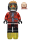 Minifig No: sh127  Name: Star-Lord - Mask, Open Jacket