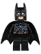 Minifig No: sh132  Name: Batman - Black Suit with Copper Belt (Type 2 Cowl)
