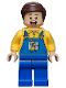 Minifig No: sh149  Name: Truck Driver - Overalls