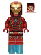 Minifig No: sh164  Name: Iron Man Mark 45 Armor
