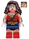 Minifig No: sh221  Name: Wonder Woman - Dark Brown Hair