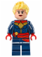 Minifig No: sh226  Name: Captain Marvel - Red Sash