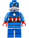 Minifig No: sh228  Name: Captain America, Space Captain America