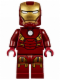 Minifig No: sh231  Name: Iron Man with Circle on Chest