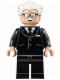 Minifig No: sh237  Name: Alfred Pennyworth - White Hair