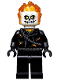 Minifig No: sh267  Name: Ghost Rider - White Head