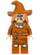 Minifig No: sh275  Name: Scarecrow, Dark Orange Floppy Hat