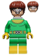 Minifig No: sh284  Name: Dr. Octopus (Otto Octavius)/ Doc Ock, Bright Green and Yellow Suit