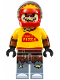 Minifig No: sh332  Name: Scarecrow, Pizza Delivery Outfit