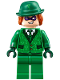 Minifig No: sh334  Name: The Riddler - Suit and Tie, Hat with Hair