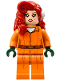 Minifig No: sh342  Name: Poison Ivy - Prison Jumpsuit