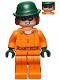 Minifig No: sh344  Name: The Riddler - Prison Jumpsuit