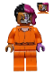 Minifig No: sh345  Name: Two-Face - Prison Jumpsuit