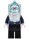 Minifig No: sh355  Name: Mr. Freeze, Black