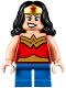 Minifig No: sh358  Name: Wonder Woman - Short Legs
