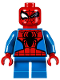 Minifig No: sh360  Name: Spider-Man - Short Legs, Winking
