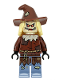 Minifig No: sh391  Name: Scarecrow, Reddish Brown Floppy Hat