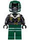 Minifig No: sh403  Name: Vulture, Dark Green Flight Suit, Black Bomber Jacket