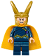 Minifig No: sh411  Name: Loki, Dark Blue Outfit