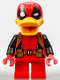 Minifig No: sh427  Name: Deadpool Duck (Comic-Con 2017 Exclusive)