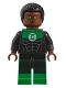 Minifig No: sh428  Name: Green Lantern - John Stewart