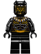 Minifig No: sh477  Name: Erik Killmonger (Golden Jaguar)
