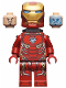 Minifig No: sh497  Name: Iron Man Mark 50 Armor, Neck Bracket