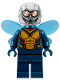 Minifig No: sh517  Name: The Wasp (Hope van Dyne) - Trans-Medium Blue Wings