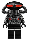 Minifig No: sh526  Name: Black Manta, Black Helmet