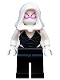 Minifig No: sh543  Name: Ghost Spider / Spider-Gwen, White Hood