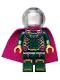 Minifig No: sh580  Name: Mysterio, Magenta Trim