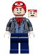 Minifig No: sh582  Name: Peter Parker - Spider-Man Cap