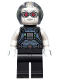Minifig No: sh587  Name: Mr. Freeze, Pearl Dark Gray