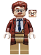 Minifig No: sh591  Name: Commissioner Gordon - Reddish Brown Hair and Coat