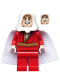 Minifig No: sh592  Name: Shazam - White Hood