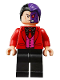 Minifig No: sh594  Name: Two-Face - Black Shirt, Red Tie and Jacket