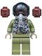 Minifig No: sh597a  Name: Maria Rambeau - Black Helmet and Oxygen Mask